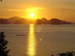 Rock Climbing Photo: Sunrise on Koh Yao Noi