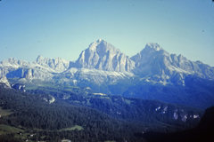 Rock Climbing Photo: Tofana di Rozes view from the summit of Lastoni di...