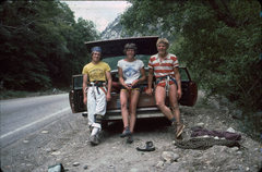 Rock Climbing Photo: The day before we had climbed Pilz Grind, on this ...