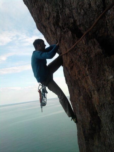 Rock Climbing Photo: Laceration Jam
