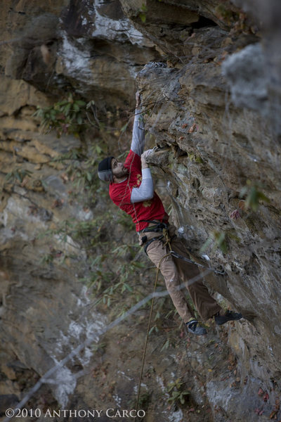 "Rock Climbing Photo: Grady heads towards the ""business"" of Go..."