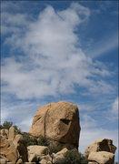Rock Climbing Photo: Bite Rock and cloud. Photo by Blitzo.