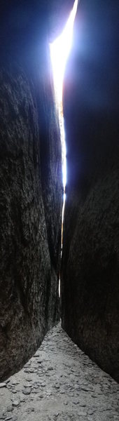 Rock Climbing Photo: just a little light