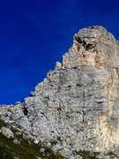 Rock Climbing Photo: The Steger route follows the left hand skyline (We...
