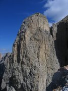 Rock Climbing Photo: Southwest Face of the Third Sella Tower