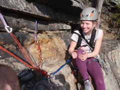 Rock Climbing Photo: Shrimp Scampered, 5.5 Anchor approved!