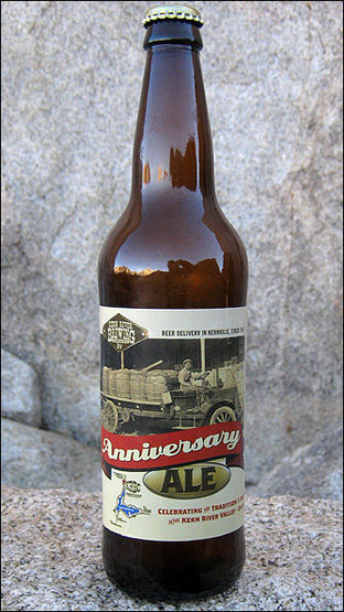 "Rock Climbing Photo: Try the Kern ""Anniversary Ale"". Photo by..."