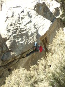 Rock Climbing Photo: Jay on The Gilded Lady. Photo from the Trailside B...
