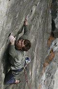 Rock Climbing Photo: Stewart Korte of the HWDAMF climbing curse of the ...