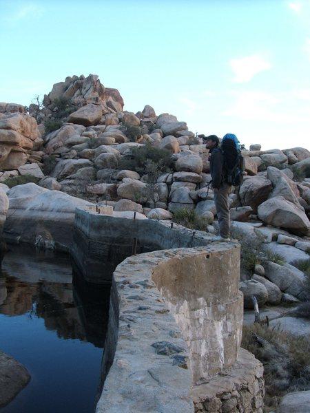 Me on Barker Dam