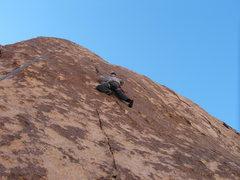 Rock Climbing Photo: Daniel on Rock Candy 5.9