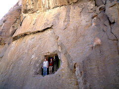 Rock Climbing Photo: Kodye and James emerge from the the depths unscath...