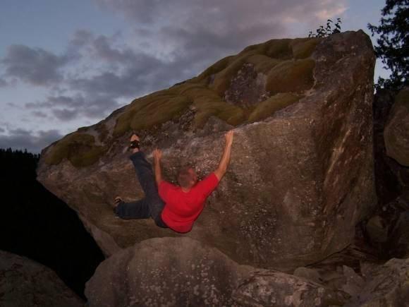 Rock Climbing Photo: Skookumchukin