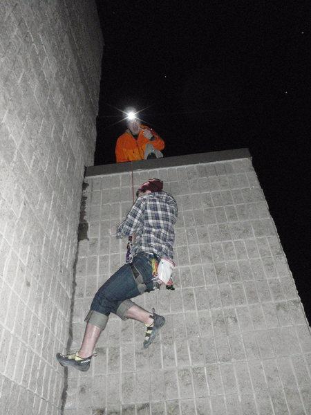 climbing wall <br>