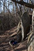 Rock Climbing Photo: Unclimbed Arete