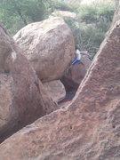 Rock Climbing Photo: v1?