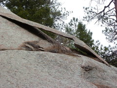 Rock Climbing Photo: Interesting little slab/arch.