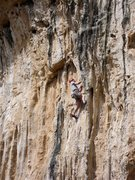 Rock Climbing Photo: Matt Switanek on the cool stuff.