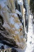 Rock Climbing Photo: Nate Erickson. Icebreakers Arete. 3/6/11.