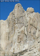 "Rock Climbing Photo: ""Quit While You're Ahead"". Photo by Blit..."