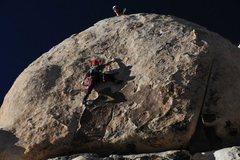 Rock Climbing Photo: Matt doing Shana Grant