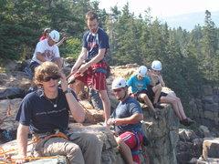 Rock Climbing Photo: busy day @otter cliffs