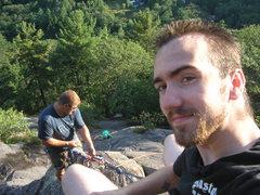 Rock Climbing Photo: jeremy,me and kiethie on clipidy