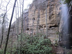 Rock Climbing Photo: The Rain Collector...the day after a Spring storm ...