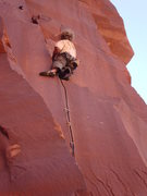 Rock Climbing Photo: extra lean