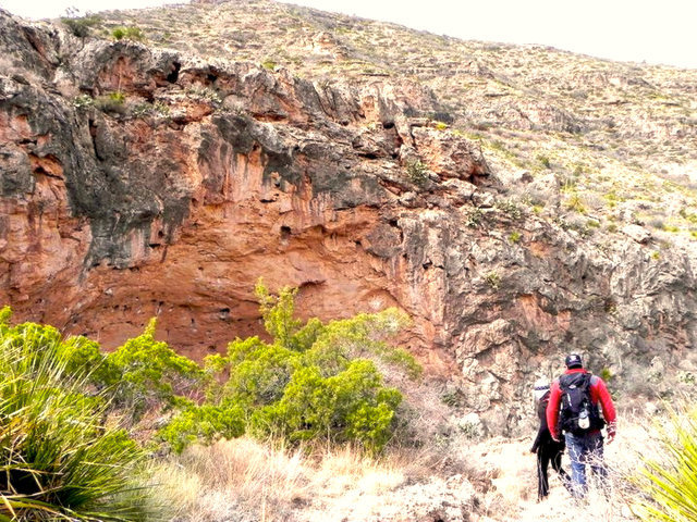 Approach to Sitting Bull Falls