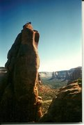Rock Climbing Photo: Three friends on the summit.  1996.