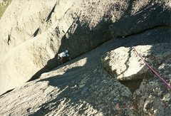 Rock Climbing Photo: 1st pitch, 1999.  Fun.