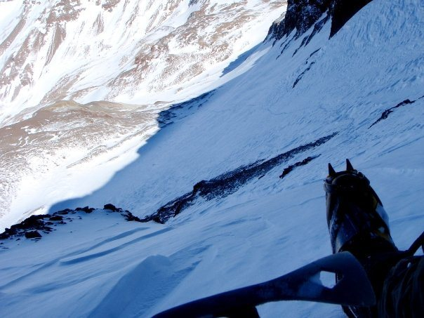 Rock Climbing Photo: Solo trips in the Andean winter
