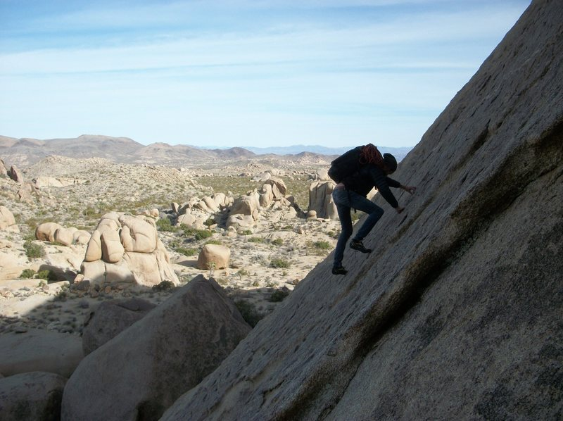 Rock Climbing Photo: approach to bird of fire