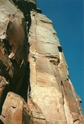 Rock Climbing Photo: Awesome splitter.