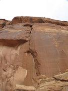 Rock Climbing Photo: Shallow.