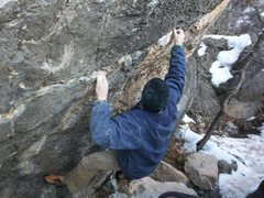 Rock Climbing Photo: BOULDER #3