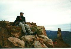 Rock Climbing Photo: Summit of the Priest 2002.