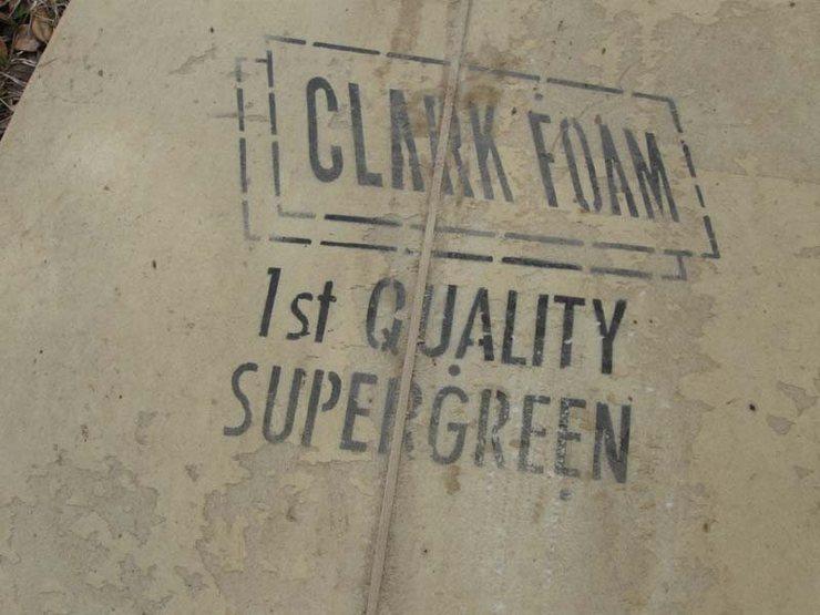 Rock Climbing Photo: Clark Foam