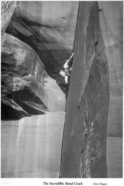 Rock Climbing Photo: What IHC used to look like!  Taken from the origin...