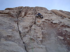 Rock Climbing Photo: the rare soft route in J-Tree