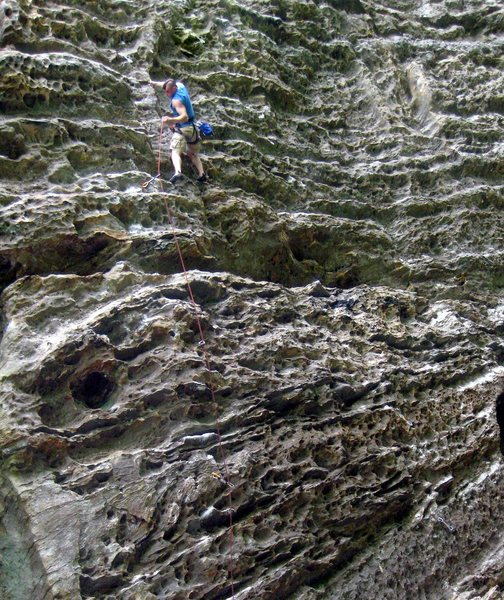 Rock Climbing Photo: Far From God,12b. Red River Gorge