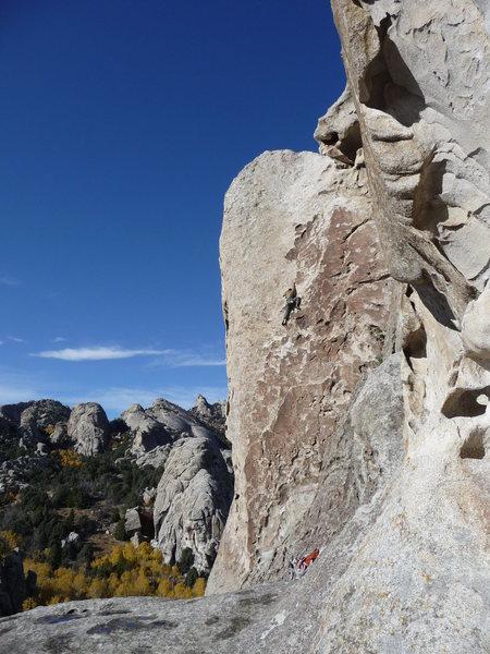 Rock Climbing Photo: Boone. Tribal Boundaries 10/19/09