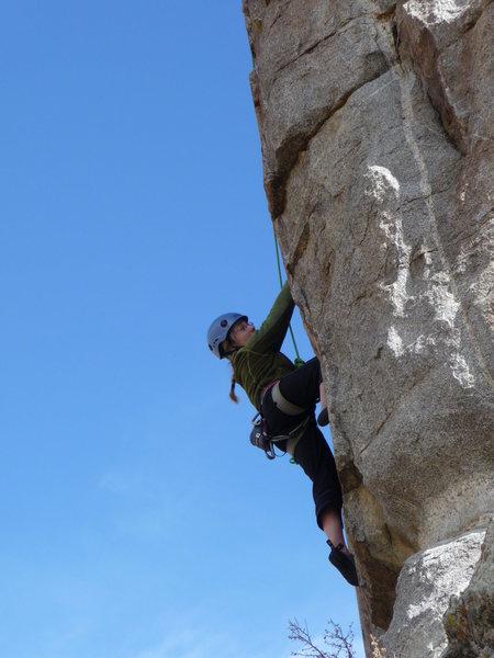 Rock Climbing Photo: Brandi Leigh City of Rocks 10/21/09