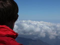 Rock Climbing Photo: circa 15,000 feet on Citlaltepetl
