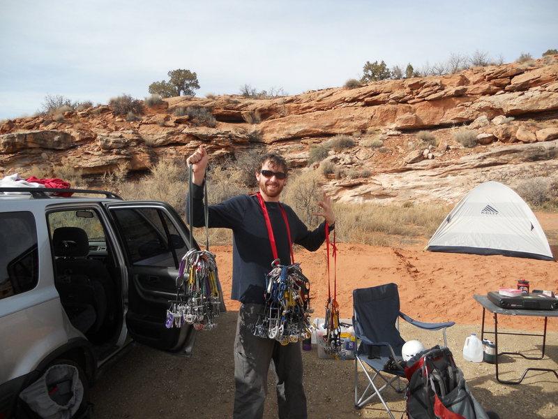 Rock Climbing Photo: My Bling!