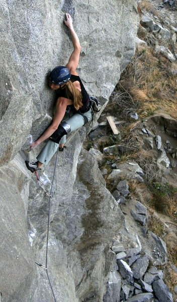 Leah at the end of the crux of Vertigo