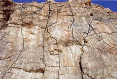 Rock Climbing Photo: Asbury Park - Right   10. Project 5.13?  11. Rule ...