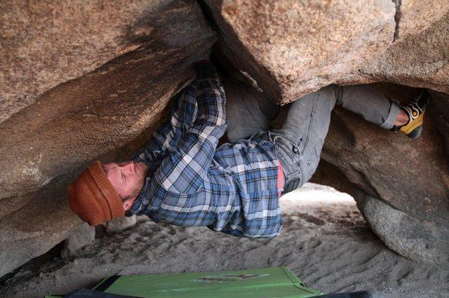 Rock Climbing Photo: Pigpen...still working on it.