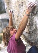 Rock Climbing Photo: Lidija Painkiher. Photo by Blitzo.